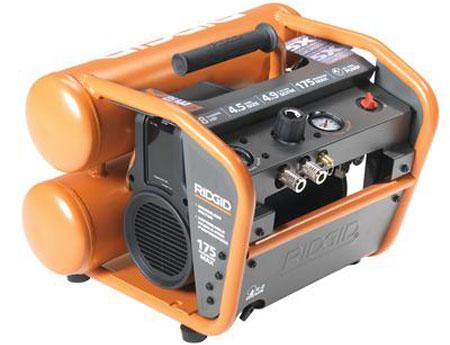 Ridgid 4.5gal Compressor