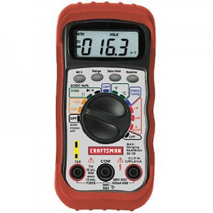 Craftsman Auto-Ranging Multimeter Deal
