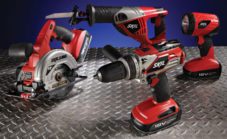 Skil's New 18V Li-Ion Power Tools