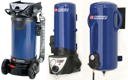 Campbell Hausfeld 8 Gallon Wall Mount Air Compressor Two