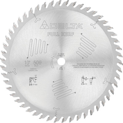New Delta Premium Woodworking Saw Blades