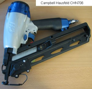 Campbell Hausfeld Finish Nailer First Impressions