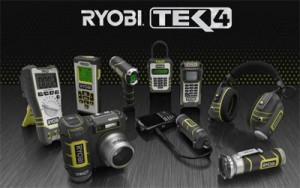 Ryobi Tek4 Cordless Electronic Tool System