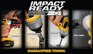 New Dewalt Impact Ready Drill & Driver Accessories