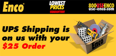 Enco Free Shipping Offer