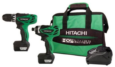 Hitachi 12V Drill/Driver & Impact Driver Kit Deal
