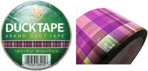 Plaid Duck Duct Tape!