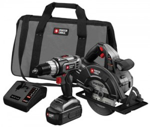 Porter Cable Combo Cordless Tool Kits Price Drop