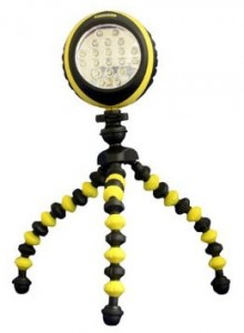 Stanley SquidBrite Flexible Tripod Work Light