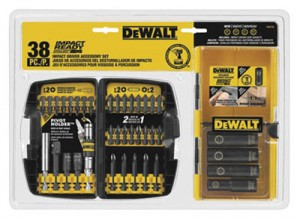 Dewalt 38pc Impact Bit Set $10