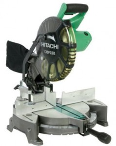 Hitachi 10in Compound Miter Saw – $99