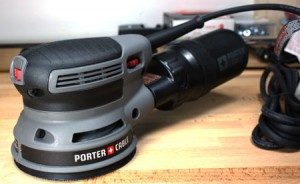 Porter Cable Low-Profile Sander Hands-on Preview