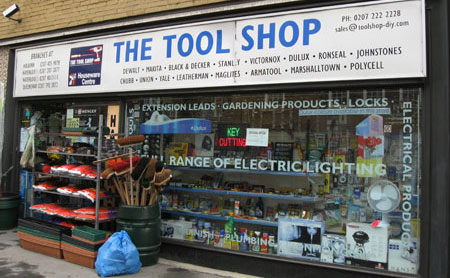 The Tool Store >> Toolguyd Tours The Tool Shop London Uk