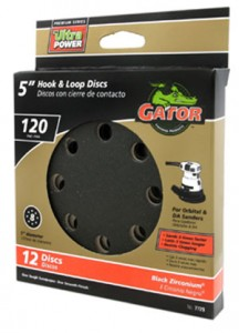 New Gator Black Zirconium Sandpaper