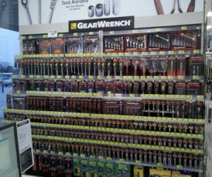 Gearwrench Tool Wall at Advance Auto Parts