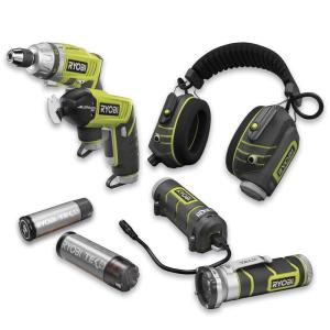 Ryobi Tek4 5pc Combo Kit With Screwdriver & Snips