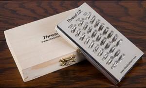 Lee Valley's Nut & Bolt Thread Identifier Tool