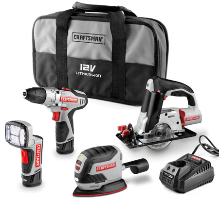 Craftsman Cordless Nextec Kit with Saw & Palm Sander