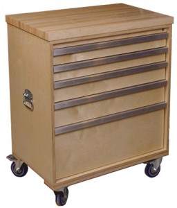 Win a Drawer on Wheels Dovetail Tool Cabinet