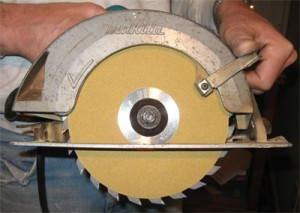 New Final Cut Side-Sanding Circular Saw Blade