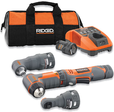Ridgid JobMax Right Angle Drill, Impact Driver, Ratchet!