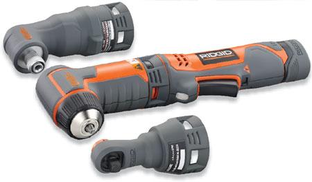 Ridgid Jobmax Right Angle Drill Impact Driver Ratchet