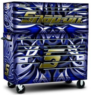 Snap-on Custom Tool Storage Skins