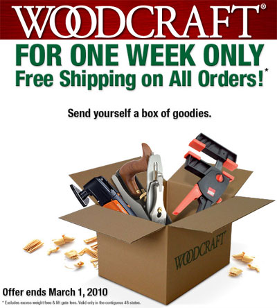Woodcraft coupons codes