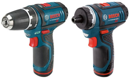 More About Bosch's New PS21 and PS31 Drill/Drivers