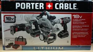 Porter Cable 18V Cordless Tool Combo Kit Review I