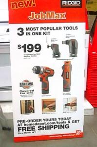 Ridgid JobMax Teaser Advertisement