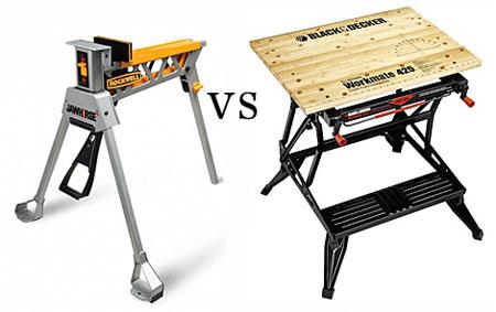 Jawhorse Vs Workmate Portable Workbench Showdown