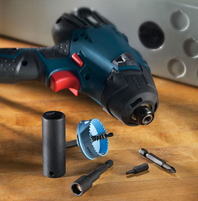 Bosch Impact Tough Driving Accessories & Hole Saws