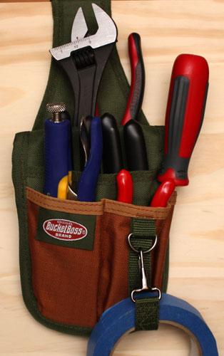 bucket boss rear guard tool sheath review