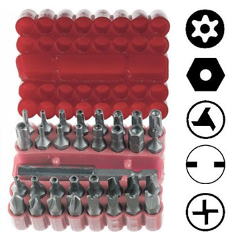 Cheap Security Bit Sets