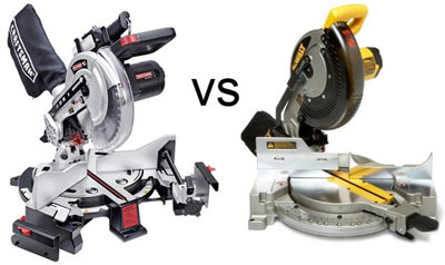 Craftsman Mitermate & Dewalt Miter Saw Showdown