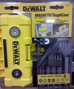 Dewalt Magnetic ToughCase Bit & Blade Storage