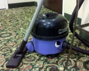 Henry Vac Spotted in the Wild