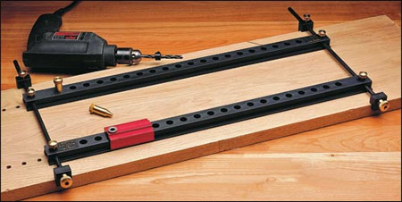 Veritas Vs Woodpeckers Shelf Pin Drilling Jig