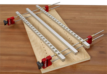 Veritas Vs Woodpeckers Shelf Pin Drilling Jig