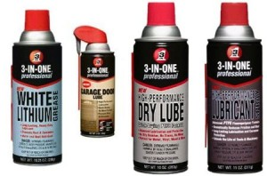 3-in-One Specialty Lubricant Sprays
