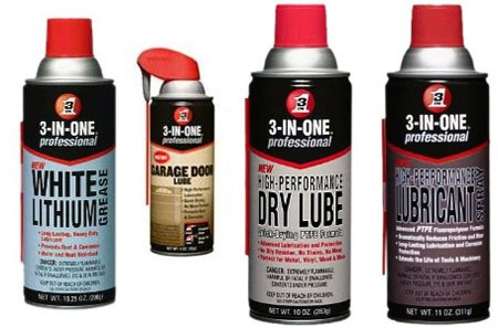 3 in one specialty lubricants