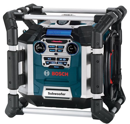 Bosch Power Box 360 Jobsite Radio and Power Center
