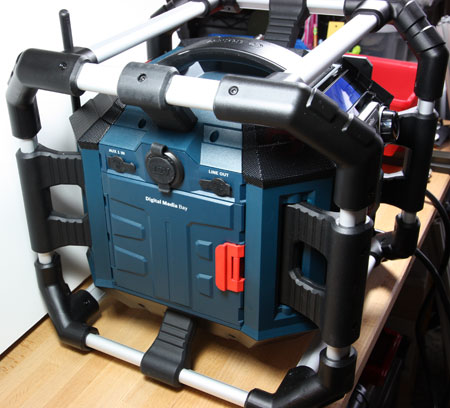 Bosch Power Box 360 Jobsite Radio Hands On Review
