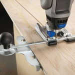 Dremel Trio Edge Cutting with Guide Handle