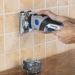 Dremel Trio Plunge Cutting Tile