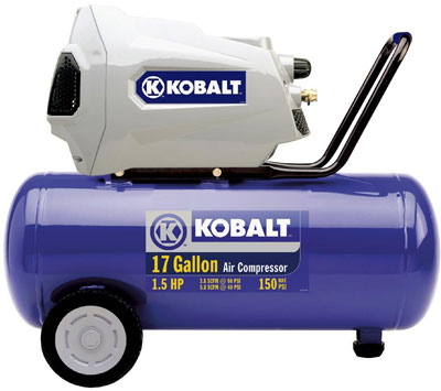 Kobalt 17 Gallon 1.5HP Compressor Review