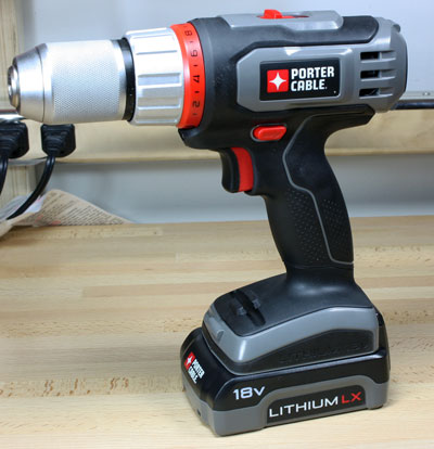 Porter Cable 18V Cordless Lithium Ion Drill