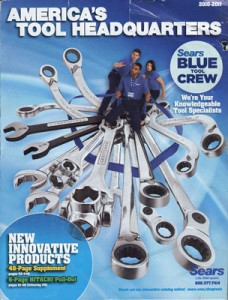 Sears New 2010-2011 Tool HQ Catalog