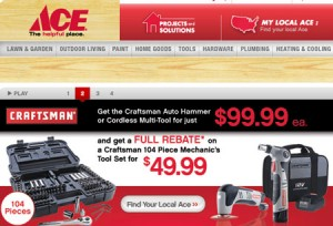 Craftsman Tools Now Available at Ace Hardware